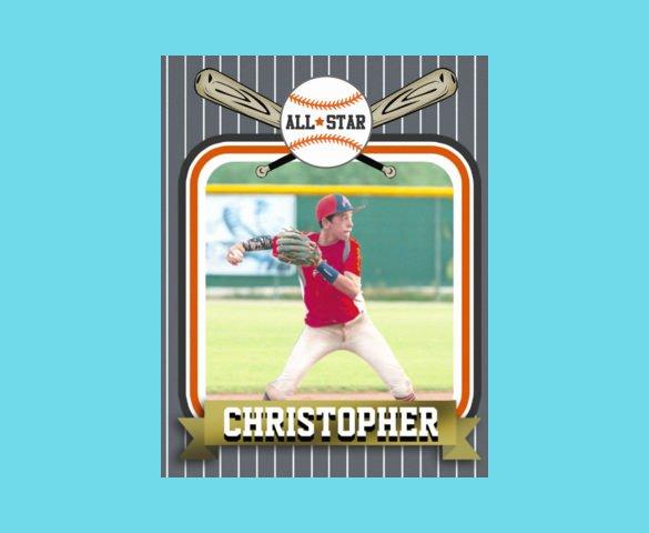 Baseball Card Template Free Beautiful 33 Trading Card Template Word Pdf Psd Eps