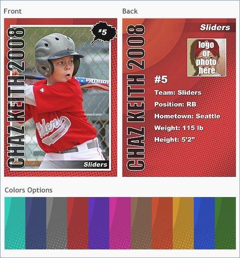 Baseball Card Template Free Fresh Trading Card Template Powerpoint – Pontybistrogramercy