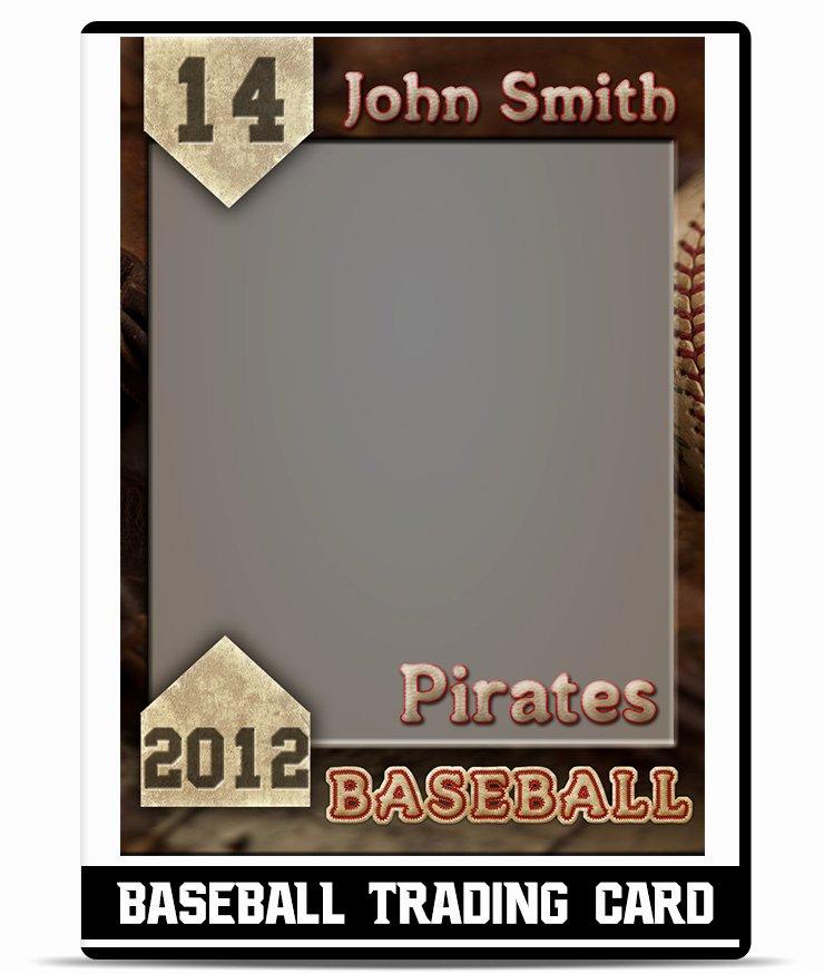 Baseball Card Template Free Inspirational Baseball – Trading Card Template