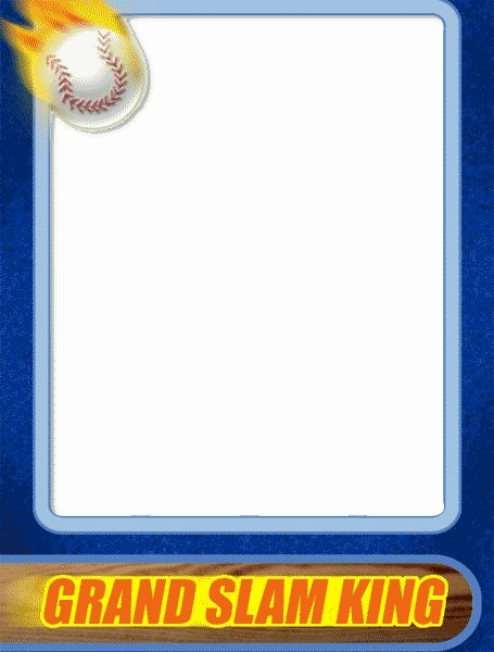 Baseball Card Template Free Luxury Sports Trading Card