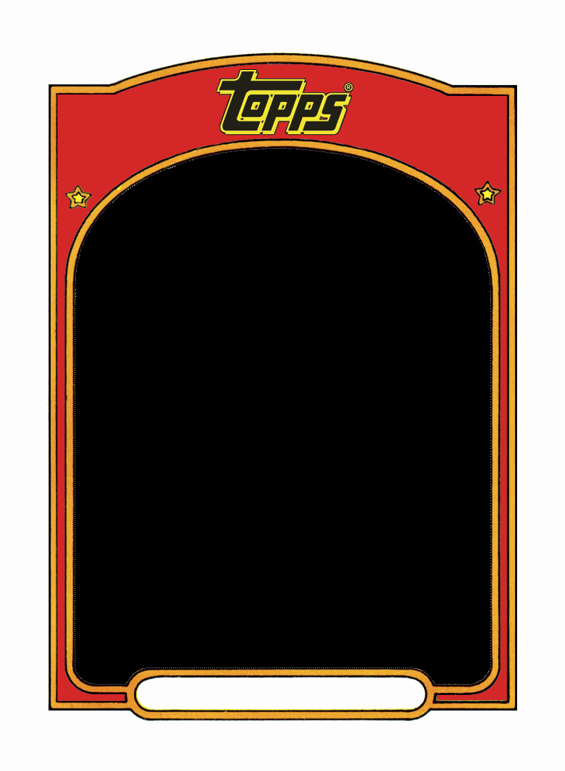 Baseball Card Template Free Luxury Sports Trading Card Templet Craft Ideas