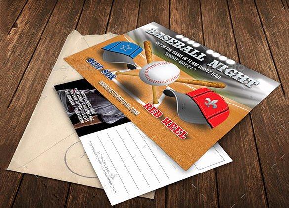 Baseball Card Template Photoshop Awesome 16 Baseball Card Templates Psd Ai Eps