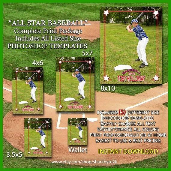 Baseball Card Template Photoshop Best Of 17 Best Images About Baseball Card Templates On Pinterest