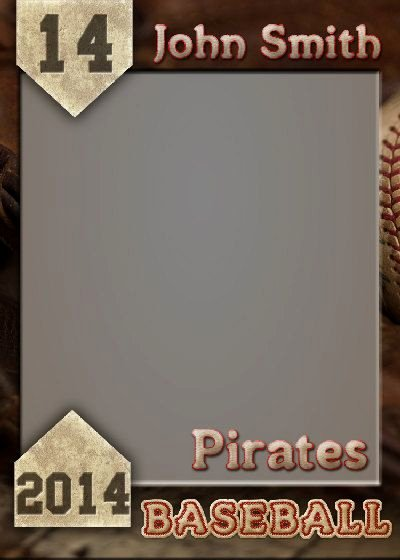 Baseball Card Template Photoshop Best Of Baseball Trading Card Shop Template by Gobluskydesign