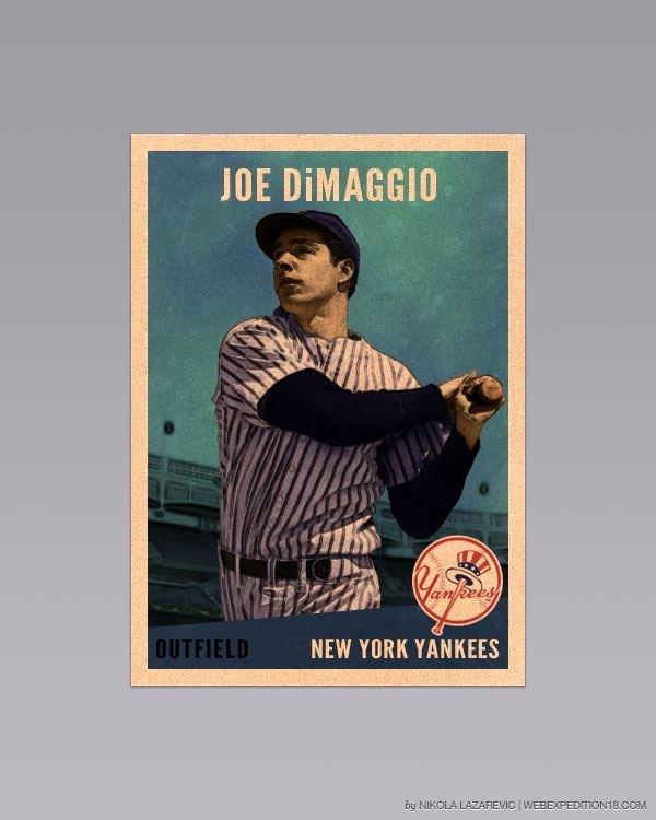 Baseball Card Template Photoshop Best Of Design A Vintage Baseball Card In Shop