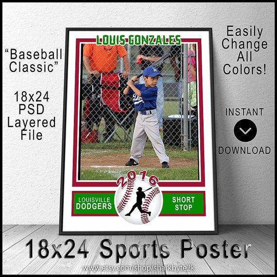 Baseball Card Template Photoshop Elegant 124 Best Shop Templates & Designs Images On Pinterest