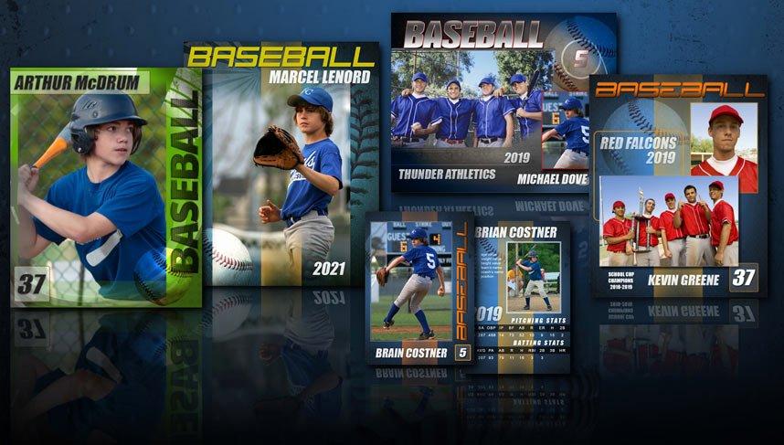 Baseball Card Template Photoshop Elegant 14 Baseball Card Psd Template Shop Templates