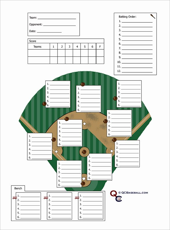 Baseball Card Template Word Elegant 10 Baseball Line Up Card Templates Doc Pdf
