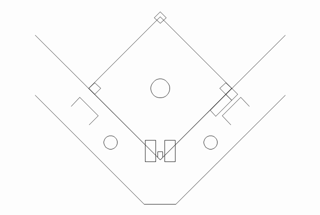 Baseball Field Layout Template Elegant softball Diamond Template to Pin On Pinterest