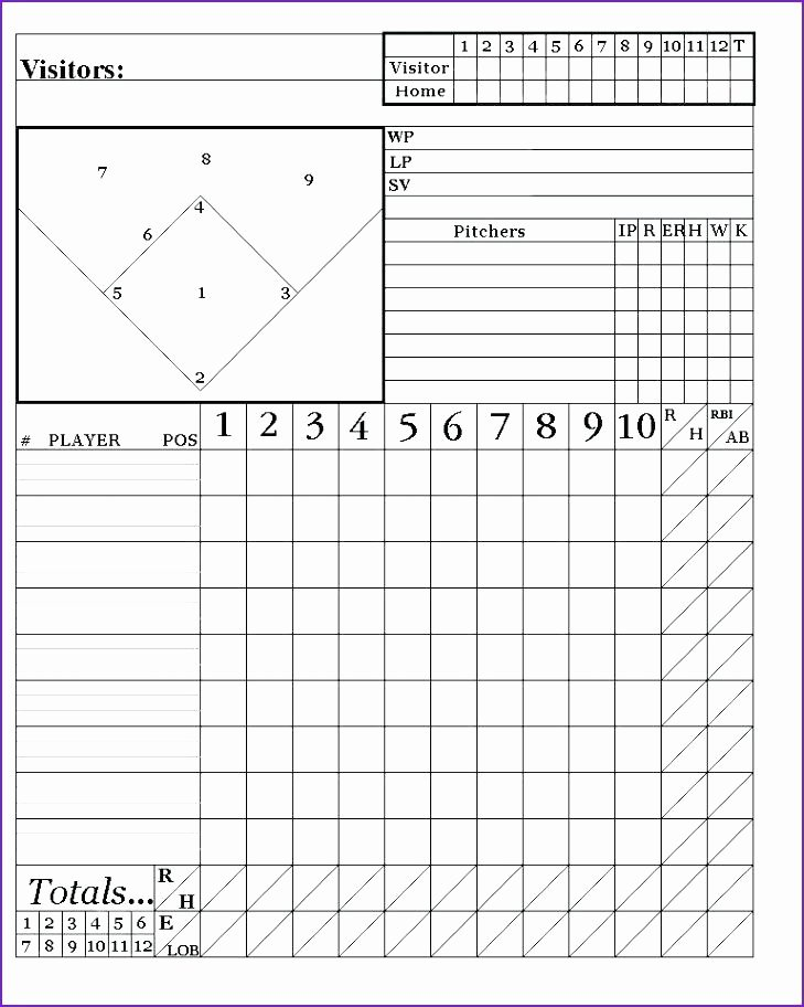 Baseball Lineup Card Template Beautiful Baseball Lineup Board Custom Recreational Baseball League