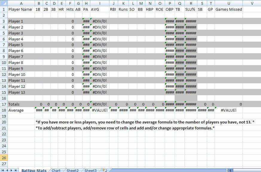 Baseball Lineup Excel Template Beautiful Baseball Lineup Sheets