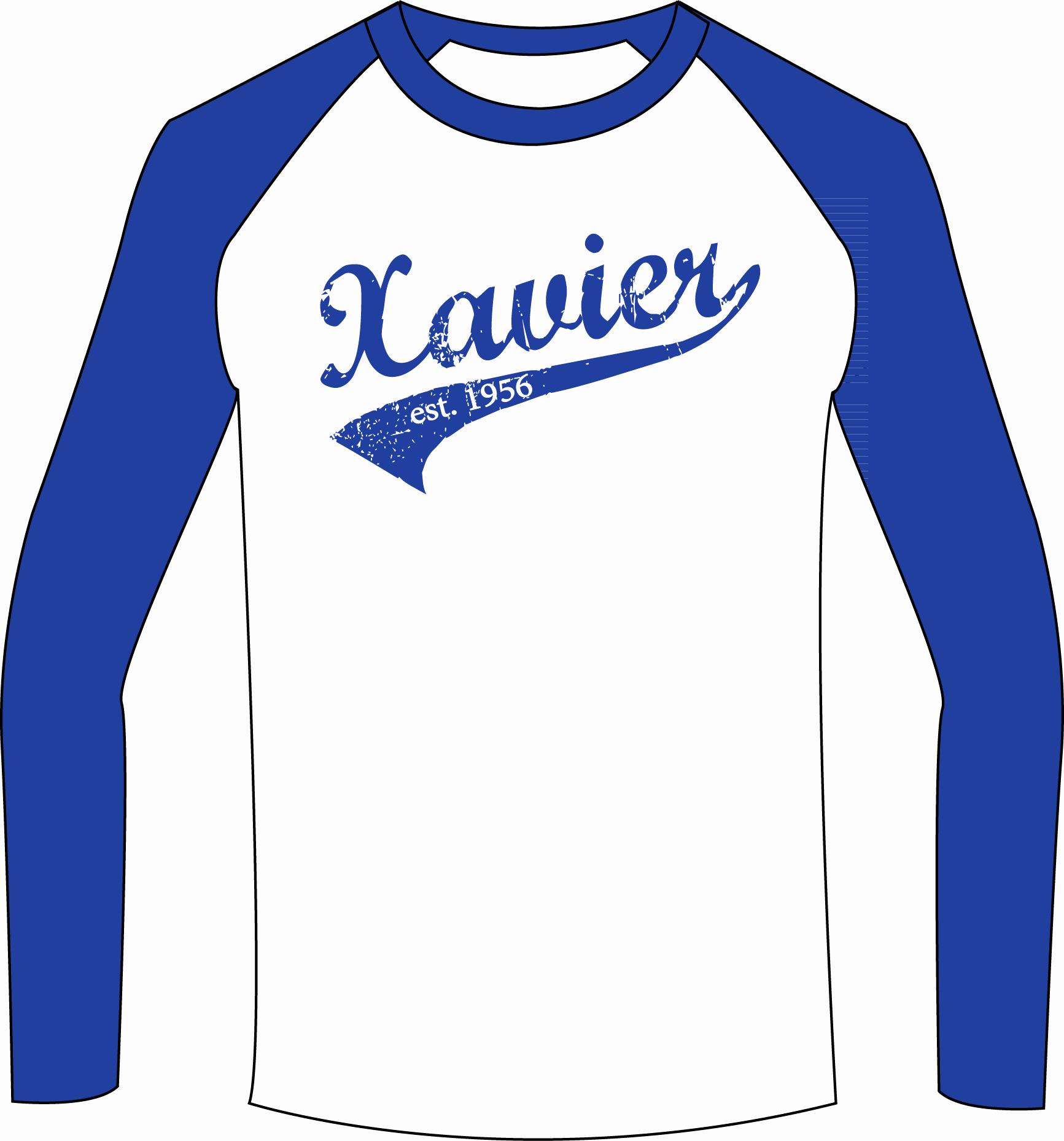 Baseball Shirt Designs Template Best Of Xavier Baseball Shirts