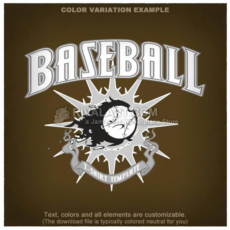 Baseball Shirt Designs Template Elegant Baseball T Shirt Design Template Base 25 Rq