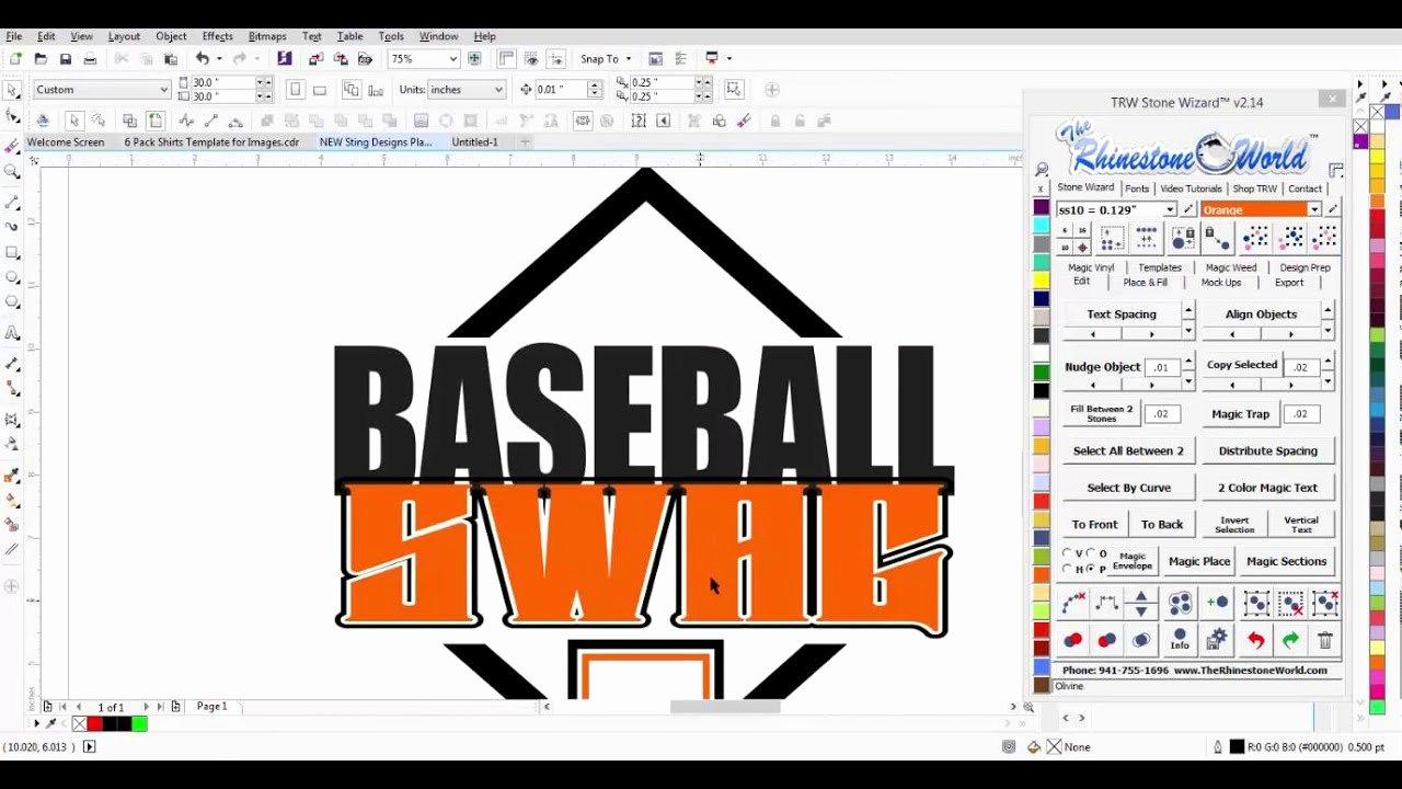 Baseball Shirt Designs Template Elegant Creating A Baseball Saying Shirt Design with Trw Magic