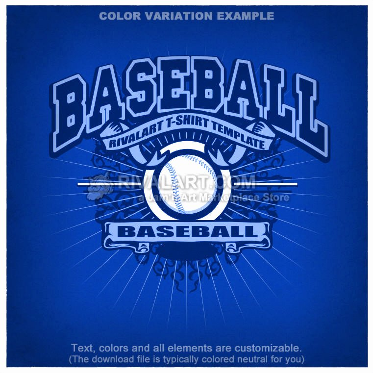 Baseball Shirt Designs Template Lovely Baseball T Shirt Design Template Base 03 Rq