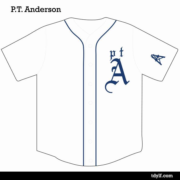 Baseball Shirt Designs Template New Movie Director Baseball Jerseys