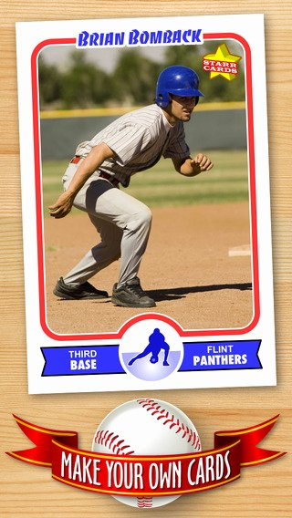 Baseball Trading Card Template Elegant Free Baseball Card Template — Create Personalized Sports