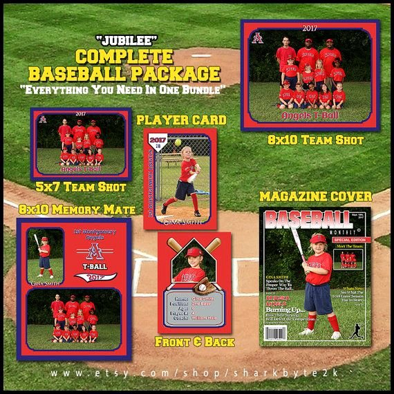 Baseball Trading Card Template Fresh Baseball Template for Shop Package Includes Player