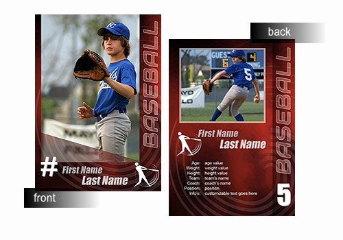 Baseball Trading Card Template Lovely 14 Baseball Card Psd Template Shop Templates
