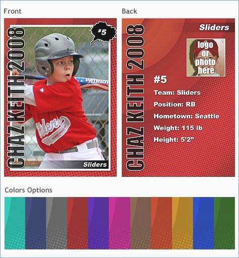 Baseball Trading Card Template Unique Trading Card Template Powerpoint – Pontybistrogramercy