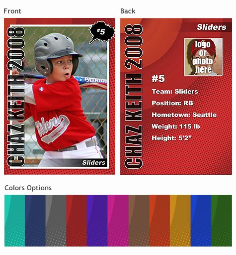 Baseball Trading Cards Template Inspirational Sports Trading Cards Template Vol 2