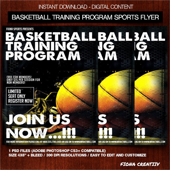 Basketball Camp Flyer Template Beautiful 24 Basketball Flyer Templates to Download