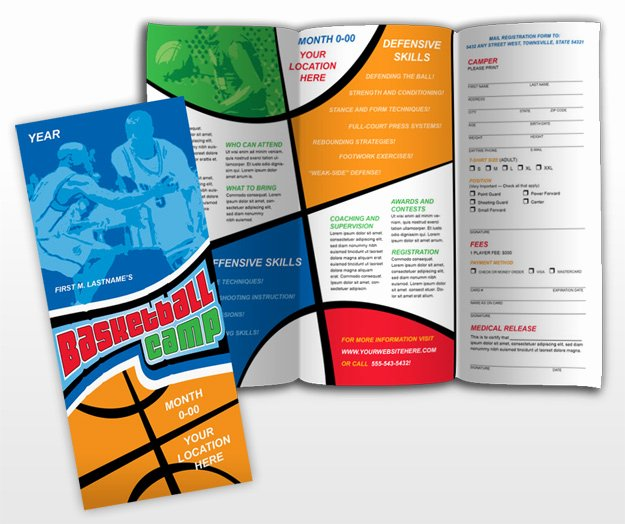 Basketball Camp Flyer Template Elegant Basketball Camp Procures Frompo 1
