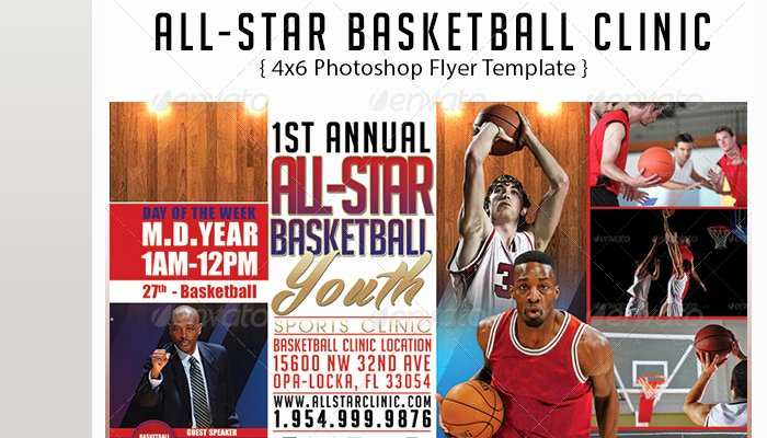 Basketball Camp Flyer Template Lovely 5 Basketball tournament Flyer Templates