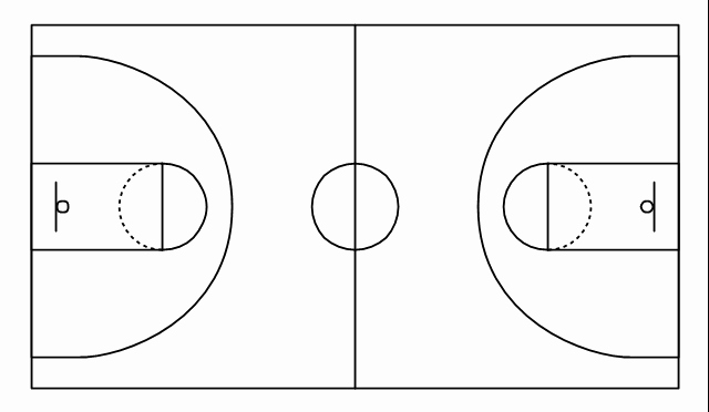 Basketball Court Design Template Awesome Basketball Court Diagram Unmasa Dalha