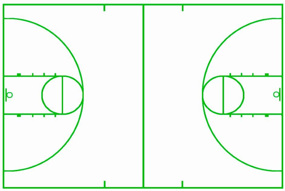 Basketball Court Design Template Beautiful Best S Of Blank Basketball Court Template Blank