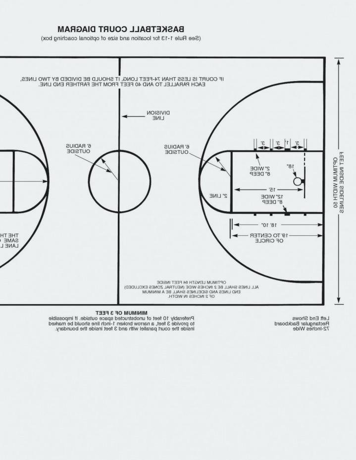 Basketball Court Design Template Fresh Basketball Court Design Template