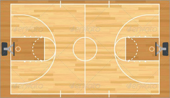 Basketball Court Design Template Lovely Basketball Court Powerpoint Template – Playitaway