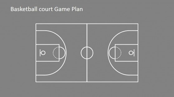 Basketball Court Design Template Luxury Court Powerpoint Templates