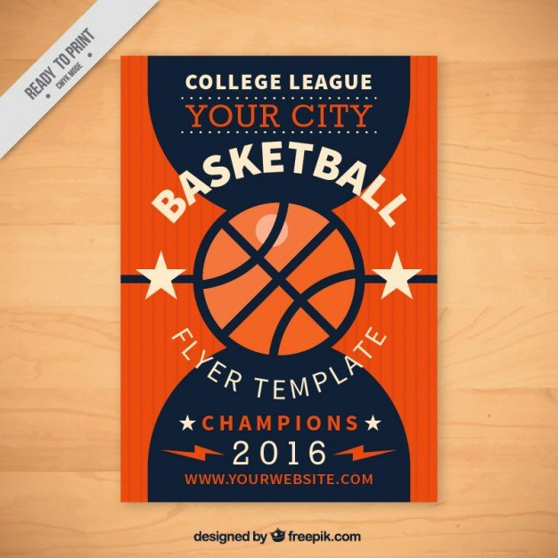 Basketball Flyer Template Free Lovely Basketball Flyer Template Vector