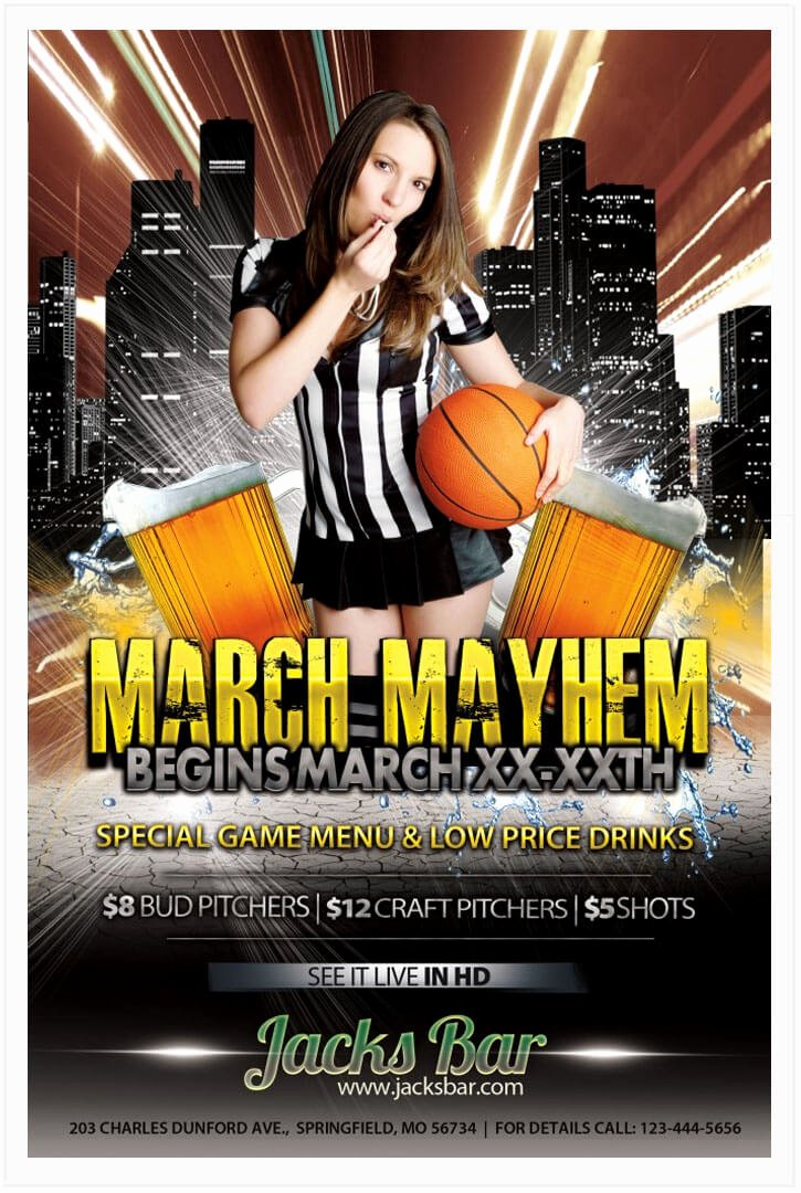 Basketball Flyer Template Free Luxury 15 Free Basketball Flyer Templates In Psd Vector Tech