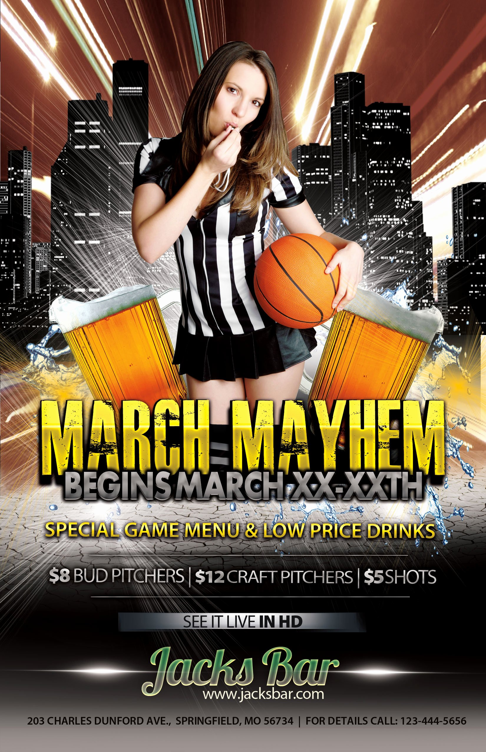 Basketball Flyer Template Free Unique the Madness Begins Free 5 Basketball Flyers In Psd for