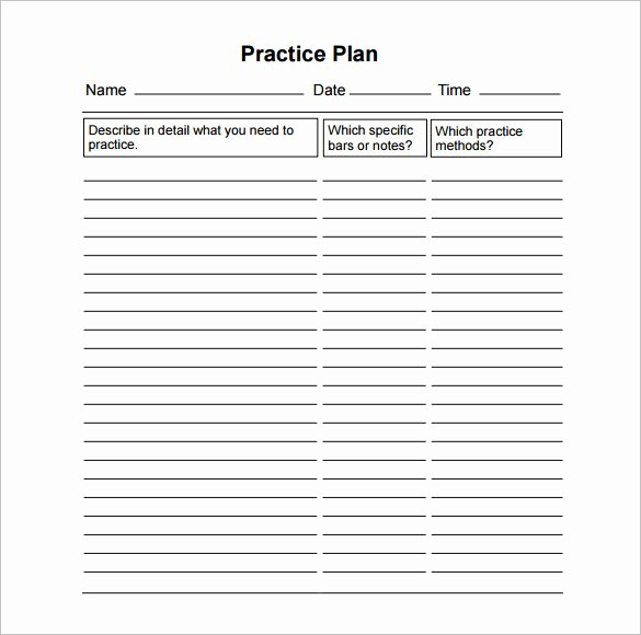 Basketball Practice Plan Template Awesome 13 Practice Schedule Templates Word Excel Pdf