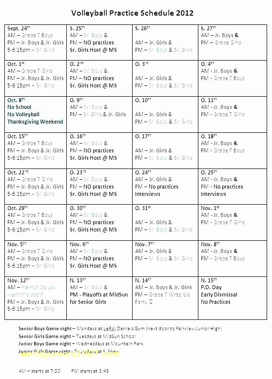 Basketball Practice Plan Template Elegant Baseball Practice Plan Template Boys Basketball Schedule