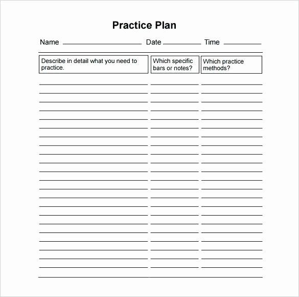 Basketball Practice Plan Template Elegant Basketball Practice Plan Mpla Golf Schedule Free Template