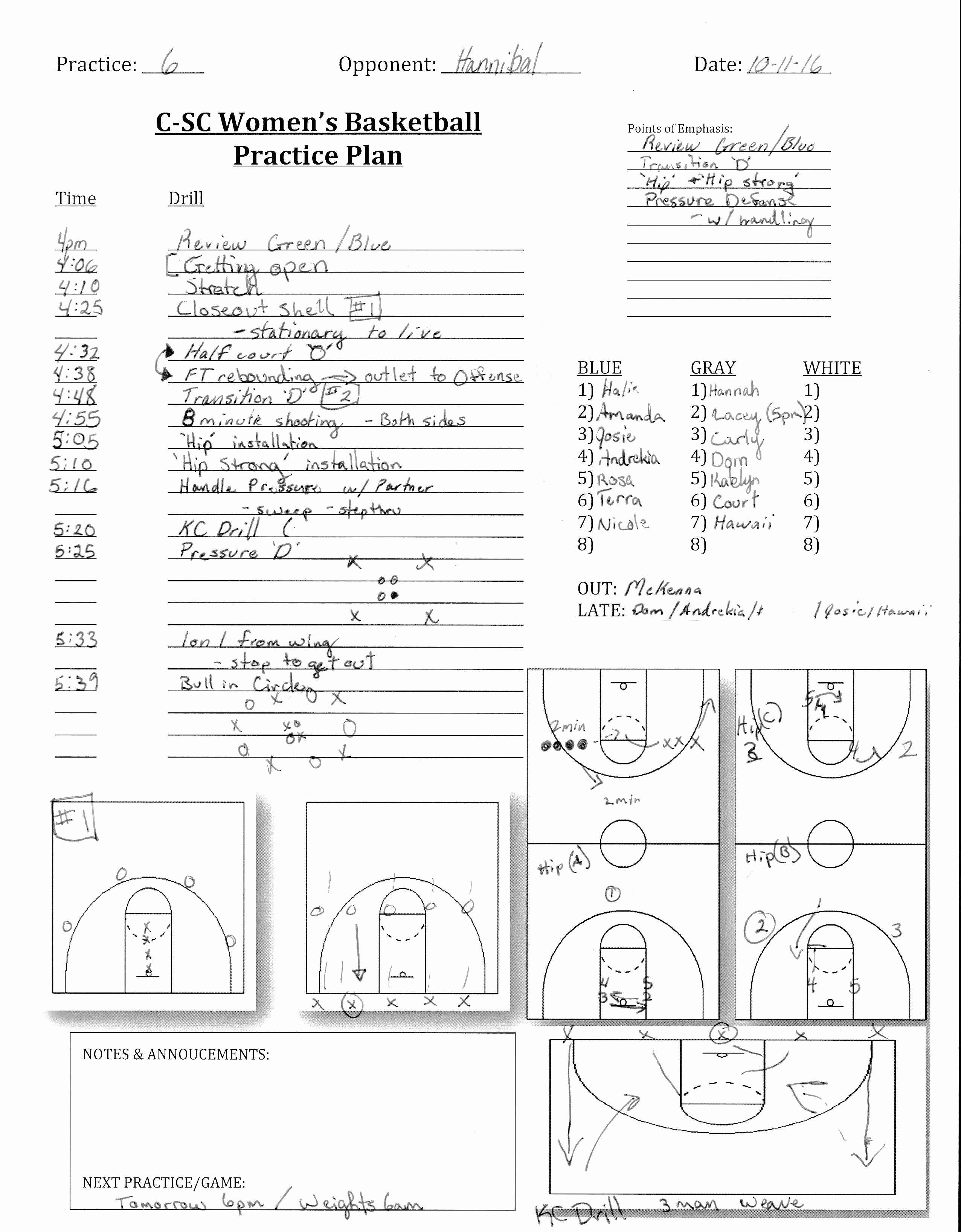 Basketball Practice Plans Template Luxury Basketball Training Plan for Beginners