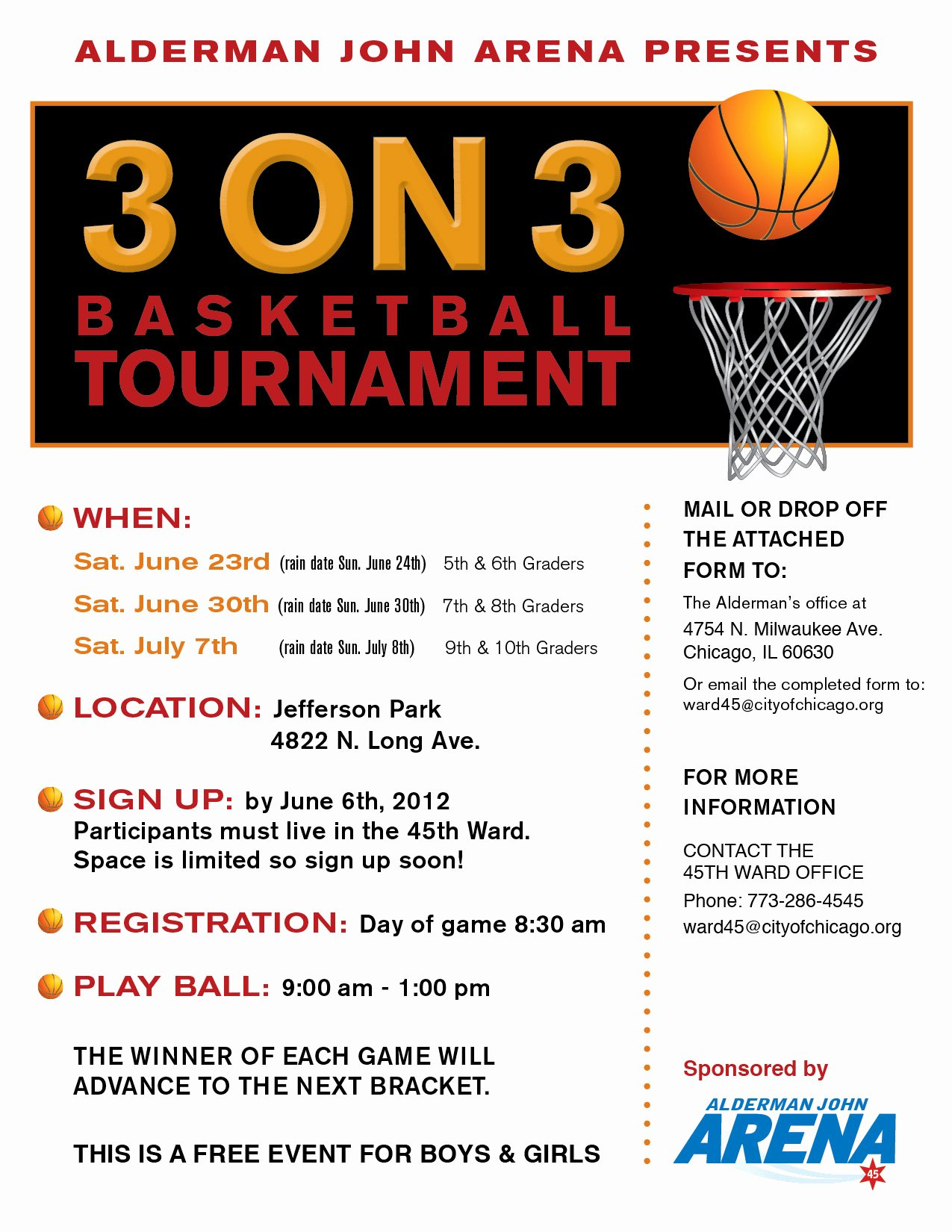 Basketball tournament Flyer Template Best Of 3on3 Flyer Flyer