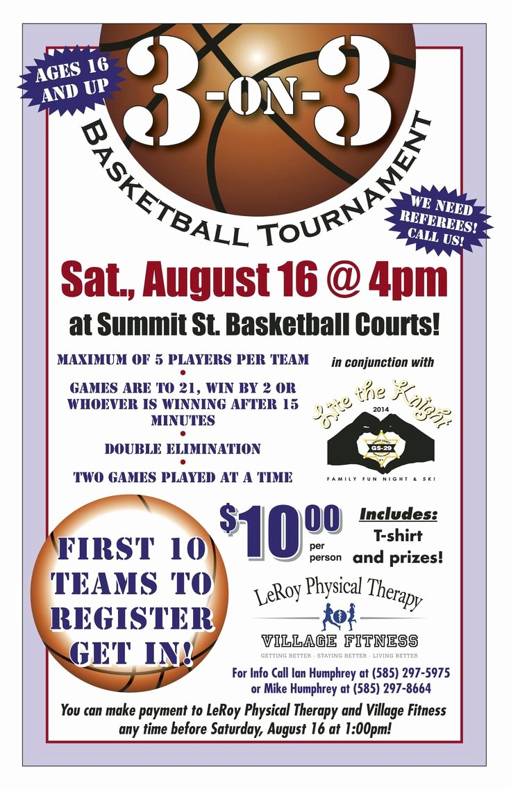Basketball tournament Flyer Template Best Of Register for Our 3 On 3 Basketball tournament This Goes
