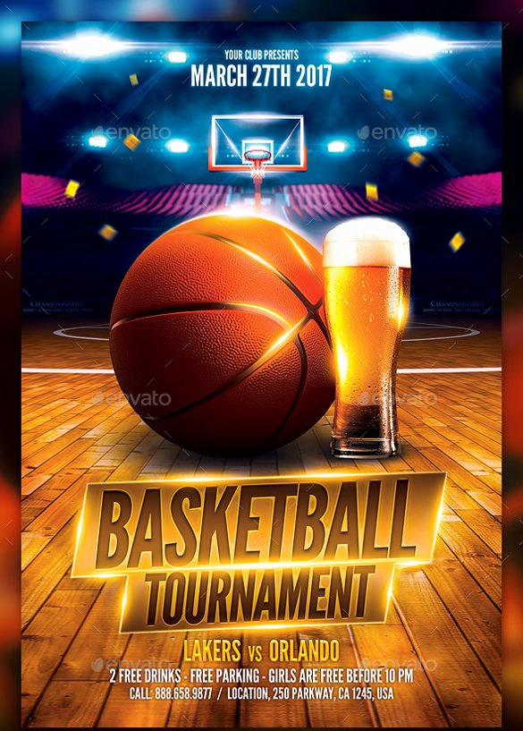 Basketball tournament Flyer Template Elegant 24 Basketball Flyer Templates to Download