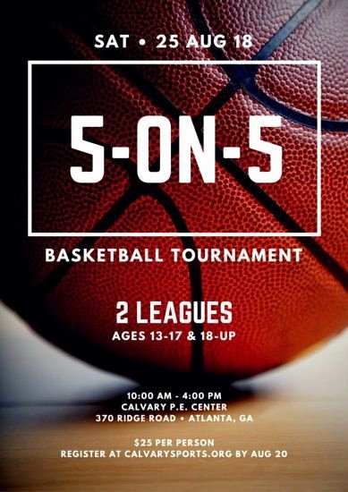 Basketball tournament Flyer Template Inspirational 5 On 5 Basketball tournament Poster Design
