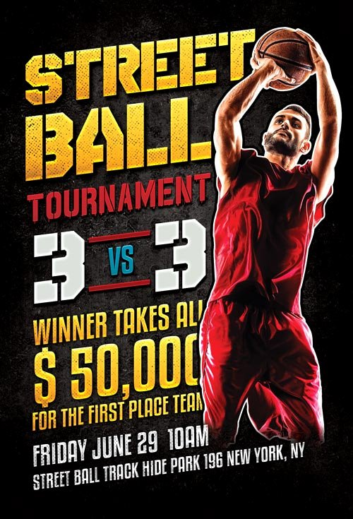 Basketball tournament Flyer Template Inspirational Basketball tournament Flyer Template Yourweek Ae601deca25e