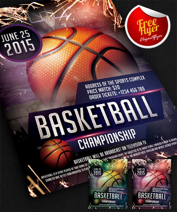 Basketball tournament Flyer Template New 31 Basketball Flyers Psd Ai Vector Eps