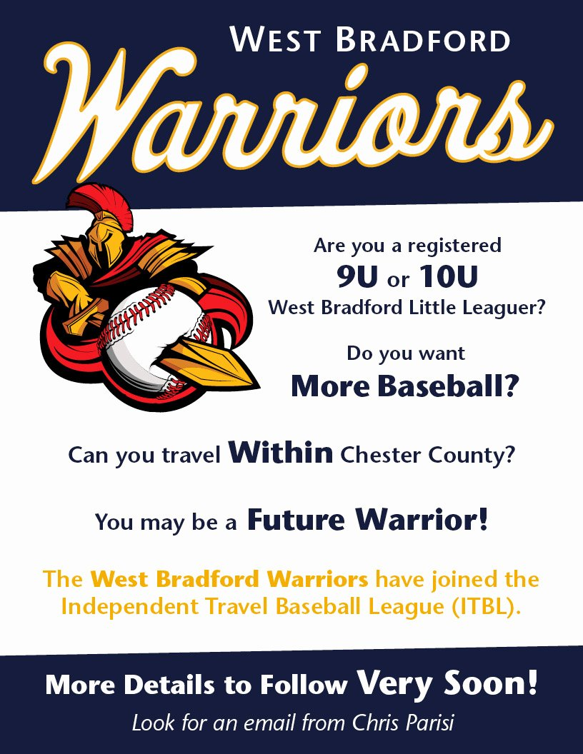 Basketball Tryout Flyer Template Beautiful West Bradford Warriors Baseball Tryout Flyer On Behance