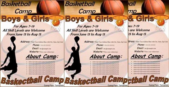 Basketball Tryout Flyer Template Inspirational 31 Basketball Flyers Psd Ai Vector Eps