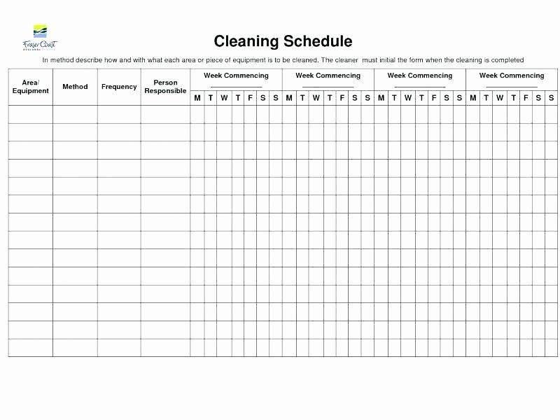 Bathroom Cleaning Checklist Template Beautiful Washroom Checklist format – Rightarrow Template Database
