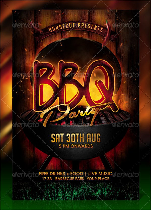 Bbq Flyer Template Free Elegant 50 Bbq Invitation Templates